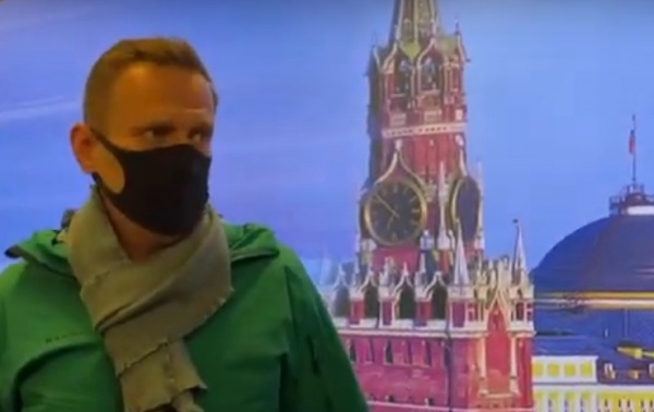 Алексей Навальный(2021) Фото: Настоящее Время, скриншот видео