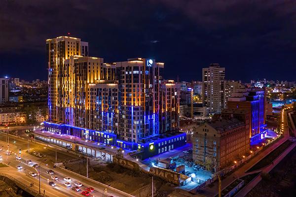 Жилой комплекс ``Макаровский``(2021) Фото: управление общественных связей УГМК
