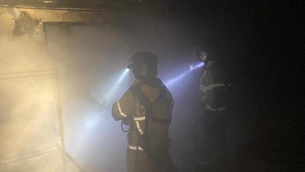Пожар в Екатеринбурге на ул.Ереванская, 28(2021)|Фото: ГУ МЧС России по Свердловской области