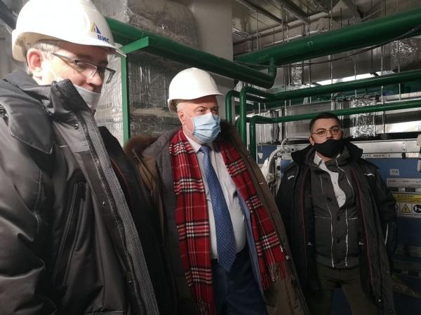 Вадим Шувалов, перинатальный центр(2021) Фото: vk.com, Вадим Шувалов