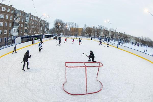 хоккейный корт(2021)|Фото: РМК, Валерий Звонарев,