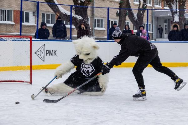 хоккейный корт, Трактор,(2021)|Фото: РМК, Валерий Звонарев,