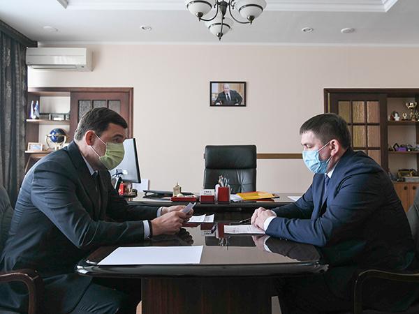 Евгений Куйвашев, Алексей Шмыков(2021)|Фото: ДИП