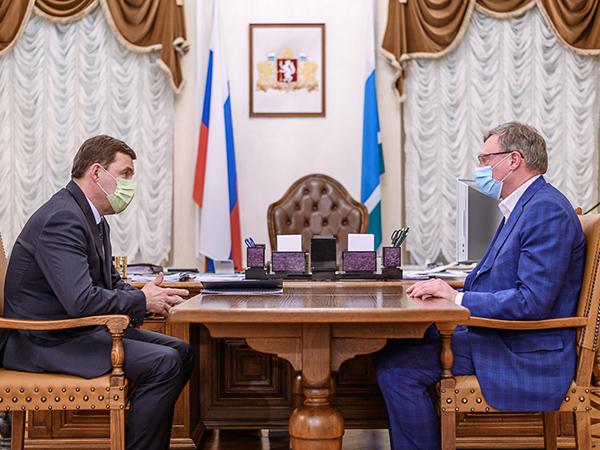 Евгений Куйвашев, Александр Бурков(2021)|Фото: ДИП