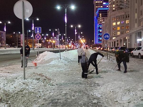 уборка снега(2021)|Фото: vk.com/vizraion