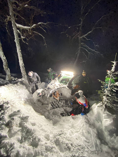 Экспедиция Алексея Вихарева на перевал Дятлова(2021) Фото: Алексей Вихарев