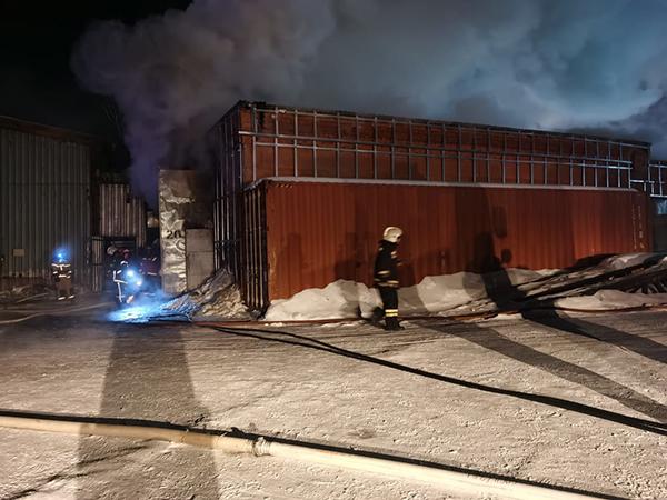 Пожар в Екатеринбурге на ул. Шефская(2021)|Фото: ГУ МЧС России по Свердловской области