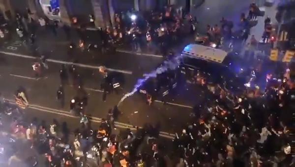 Протесты в Испании из-за ареста Пабло Хаселя(2021)|Фото: vk.com/pbdsu