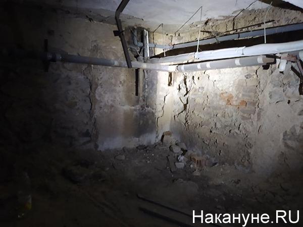 Обрушение подвала в доме на ул. Красноармейская, 78а(2021)|Фото: Накануне.RU