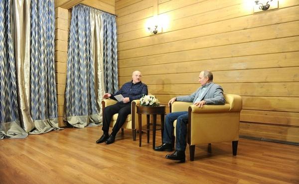 Александр Лукашенко, Владимир Путин(2021)|Фото: kremlin.ru