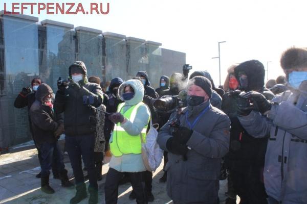 Мероприятие к 23 февралая в Пензе(2021)|Фото: leftpenza.ru
