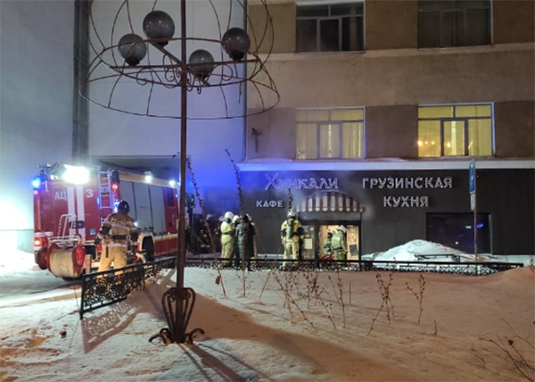 Пожар в кафе на ул. 8 марта в Екатеринбурге(2021)|Фото: ГУ МЧС России по Свердловской области
