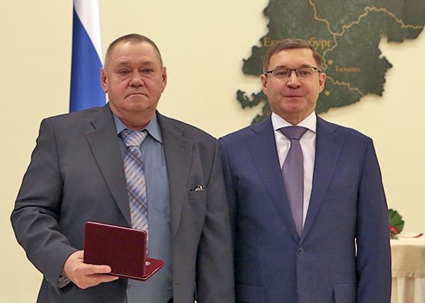 Борис Пимченко, Владимир Якушев(2021)|Фото: пресс-служба Уралвагонзавода
