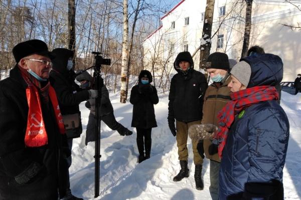Геннадий Сторожев, Черняевский лес(2021) Фото: facebook.com/gennadii.storojev
