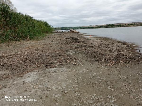 ЛНР, Исаковское водохранилище высохло(2021)|Фото: lugradar.net
