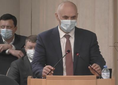Мэр Сургута Андрей Филатов.(2021)|Фото: пресс-служба городской думы Сургута