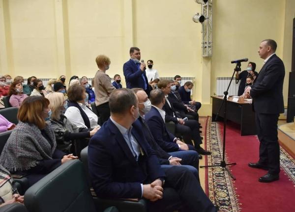 Пурпе, Губкинский, объединение, публичные слушания(2021) Фото: Администрация Губкинского