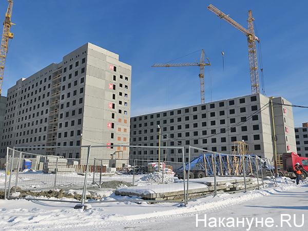 Общежития деревни Всемирных студенческих игр (Универсиады)(2021) Фото: Накануне.RU