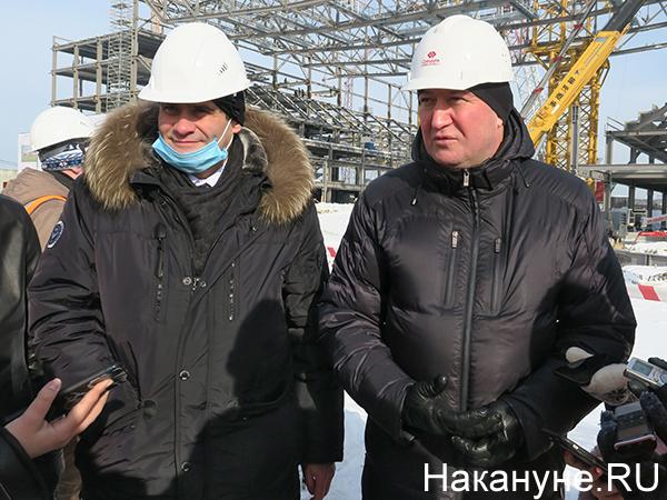 Александр Высокинский, Тимур Уфимцев(2021) Фото: Накануне.RU
