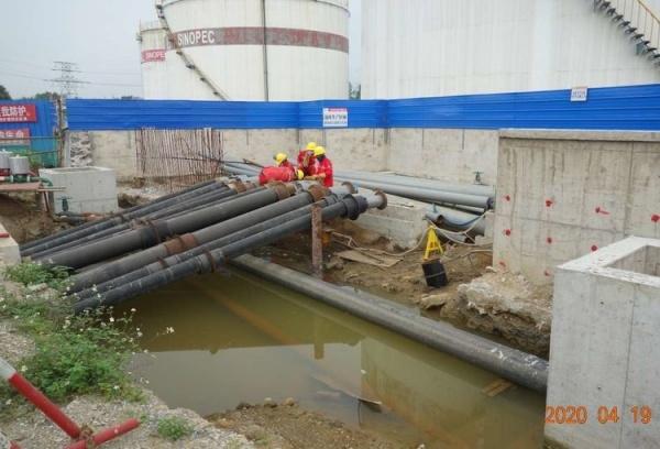 Работы на нефтехранилищах в Китае(2021)|Фото: meipian.cn