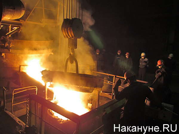 Металлургический завод, цех, плавка(2021)|Фото: Накануне.RU