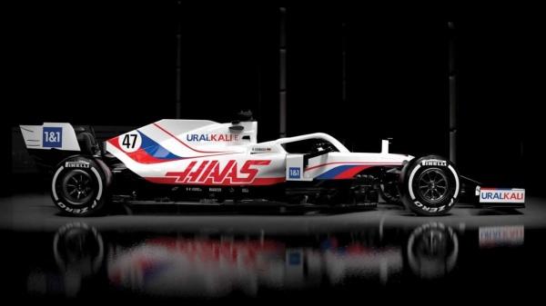 формула 1, болид, уралкалий, автогонки(2021)|Фото: haasf1team.com