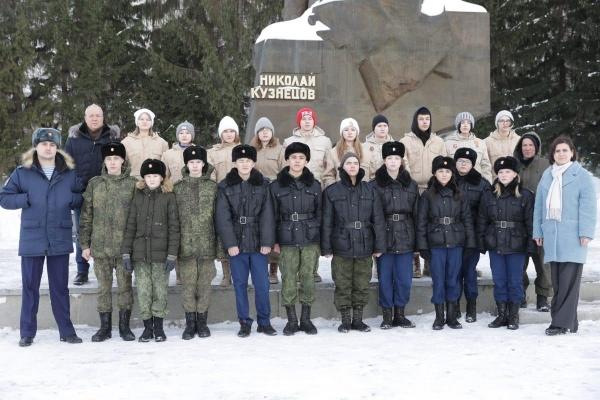 фонд святой екатерины, николай кузнецов, памятник, юнармия(2021) Фото: фонд святой Екатерины