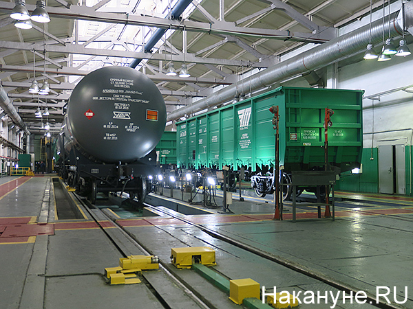 УВЗ, вагоны, цех(2021)|Фото: Накануне.RU