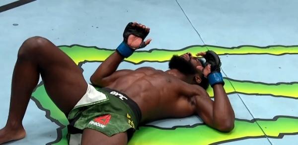 Алджамейн Стерлинг(2021)|Фото: скриншот трансляции UFC 259