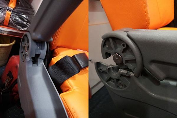 Отваливаются сидения в машине скорой помощи(2021)|Фото: источник Накануне.RU