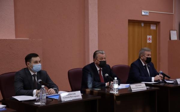 Алексей Шипилов, Василий Тихонов, Борис Хохряков(2021)|Фото: Администрация Нижневартовска
