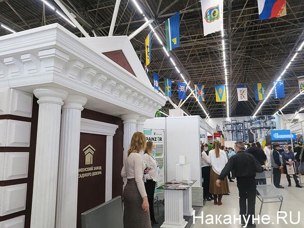II Градостроительный форум-выставка Тюменской области(2021) Фото: Накануне.RU