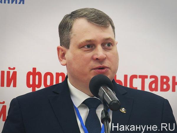 Владимир Третьяков, II Градостроительный форум-выставка Тюменской области(2021) Фото: Накануне.RU