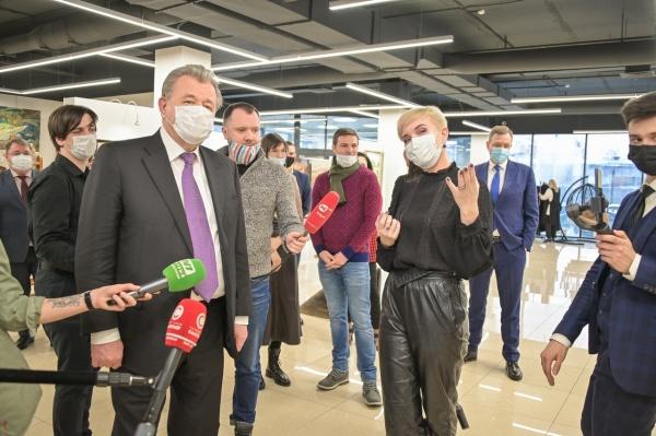 арт-резиденция, нижневартовск, василий тихонов(2021) Фото: пресс-служба администрации Нижневартовска
