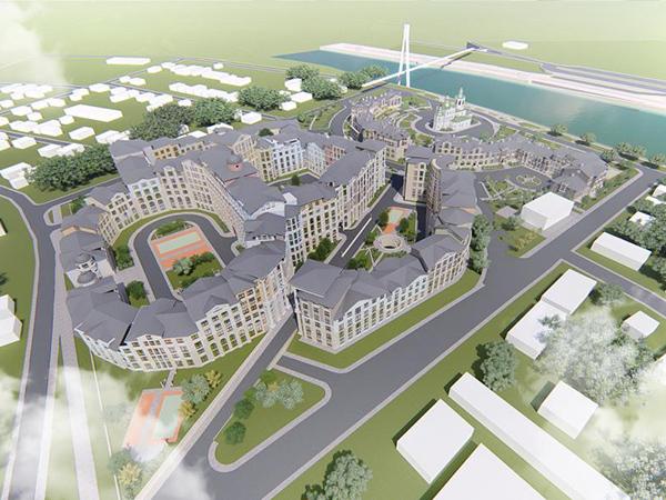 проект левого берега Туры, заречный район Тюмени(2021) Фото: t-l.ru