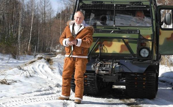 Владимир Путин, вездеход(2021)|Фото: Пресс-служба Кремля