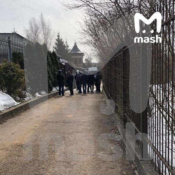 Штурм дома со стрелком в Вешках(2021)|Фото: Telegram / Mash