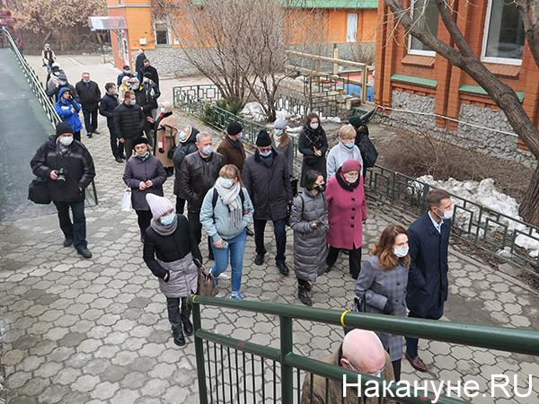 Депутаты городской думы в Екатеринбургском зоопарке(2021)|Фото: Накануне.RU