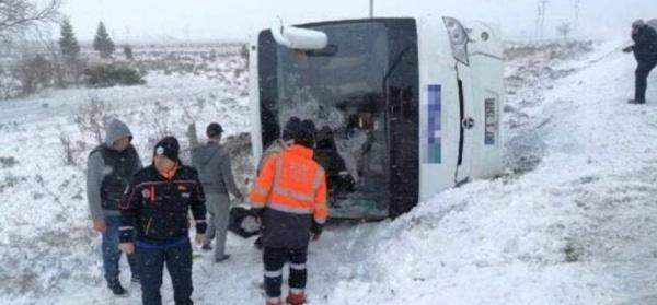 ДТП с автобусом в Турции(2021)|Фото: t.me/breakingmash