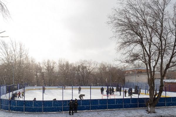 хоккейная коробка(2021)|Фото: РМК