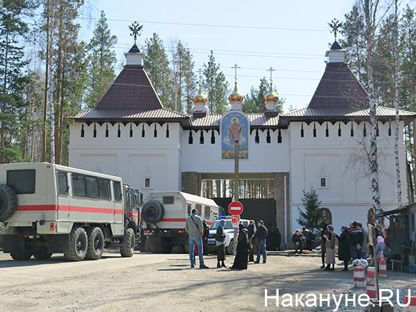 Среднеуральский женский монастырь(2021) Фото: Накануне.RU