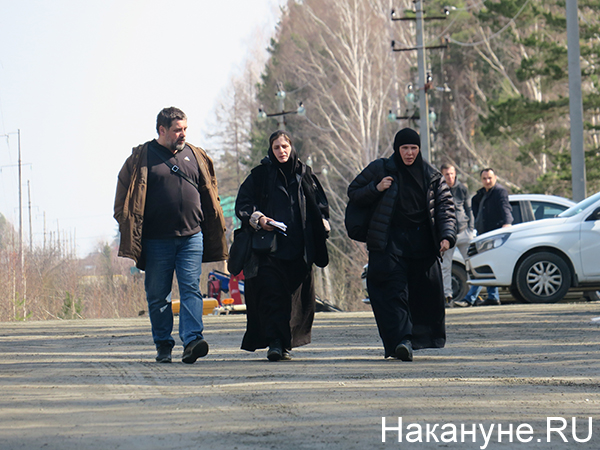 Прихожане Среднеуральского женского монастыря(2021) Фото: Накануне.RU