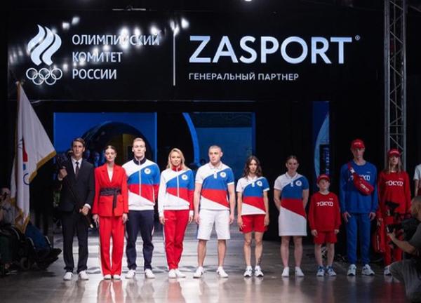 Форма российской сборной на Олимпиаде в Токио. (2021)|Фото: instagram.com/zasport / ZASPORT