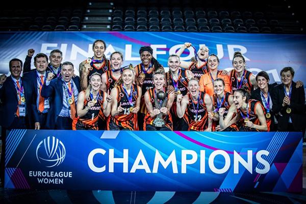БК УГМК - победитель Евролиги(2021)|Фото: FIBA
