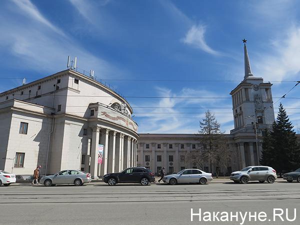 Окружной дом офицеров, Дом офицеров Центрального военного округа в Екатеринбурге(2021)|Фото: Накануне.RU