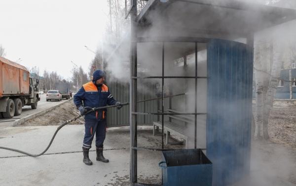 Уборка города, Нижневартовск(2021)|Фото: Администрация Нижневартовска