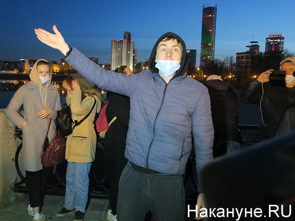 Шествие в поддержку Навального в Екатеринбурге(2021)|Фото: Накануне.RU