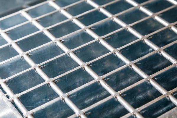 высокопрочный стальной решётчатый настил(2021)|Фото: Пресс-служба УГМК