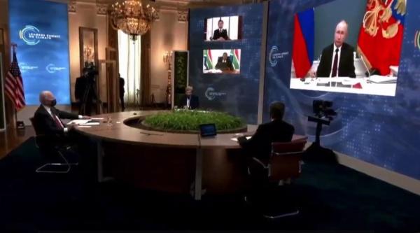 Владимир Путин на климатическом саммите.(2021)|Фото: Россия 24
