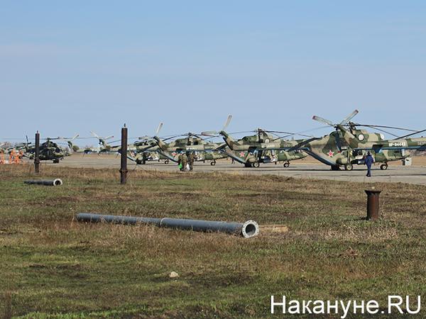 Авиация ЦВО, вертолёты(2021)|Фото: Накануне.RU